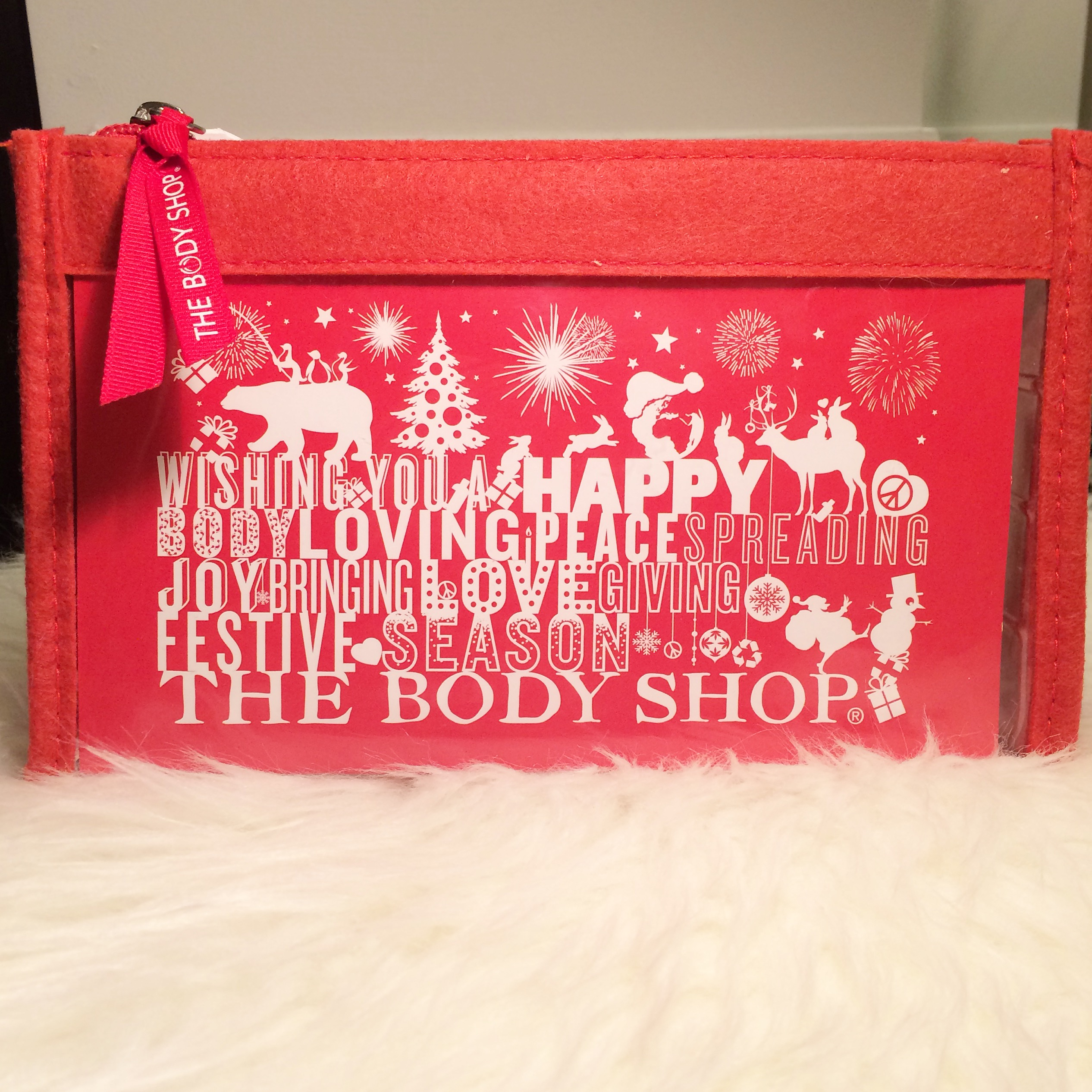Great Christmas Gift Idea: The Body Shop Strawberry Beauty
